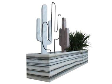 Fioriera bassa rettangolare in marmo VASE 2