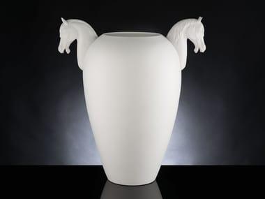 Handmade ceramic vase VASE HORSE BIG