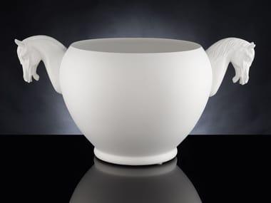 Handmade ceramic vase VASO HORSE SMALL
