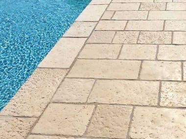 Pavimento per esterni in pietra VECCHIE CORTI BEIGE