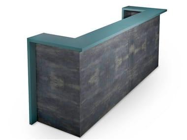 Wooden Reception desk VECTOR