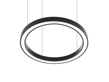 LED direct light aluminium pendant lamp VECTOR ROUND D 9736