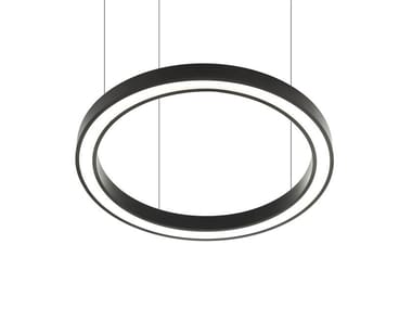LED direct-indirect light pendant lamp VECTOR ROUND D-I 9735