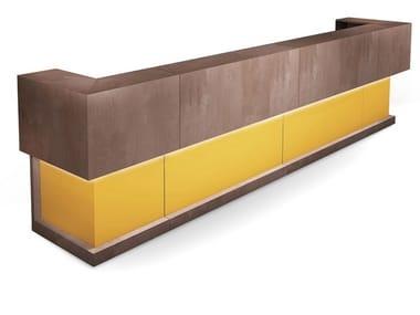 Reception desk with Built-In Lights VEGA