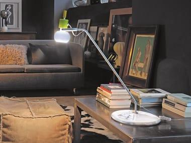 Adjustable glass table lamp VEGA LT