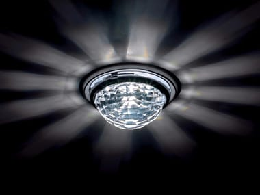 Halogen recessed spotlight with Swarovski crystals VEGA | Halogen spotlight