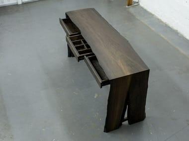 Bog oak console table / dressing table VEL   Console table