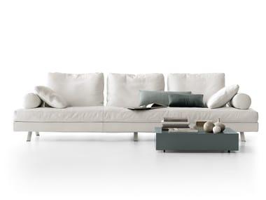 Fabric sofa VELIERO