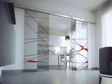 pivot and series glass ruby doors interior sliding