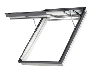 Centre-pivot top-hung Electrically operated roof window GPU INTEGRA®