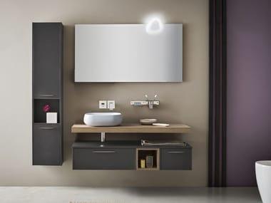 Mobile bagno sospeso con specchio VELVET 871