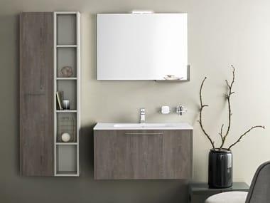 Mobile bagno sospeso con specchio VELVET 926