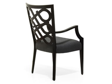 Upholstered chair with armrests VENERE   Chair with armrests
