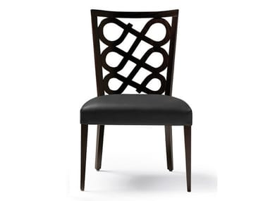 Upholstered leather chair VENERE   Upholstered chair