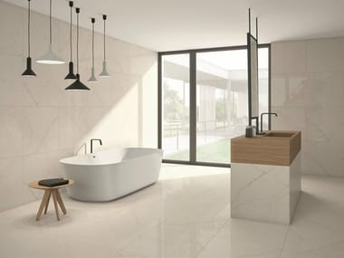 Wall/floor tiles with stone effect VENEZIA BIANCO