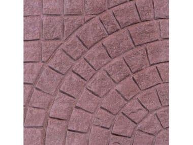 Pavimenti per esterni VENTAGLIO Grezzo anticato Rosso
