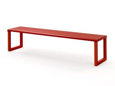 Aluminium Bench VENTIQUATTRORE.H24   Backless Bench