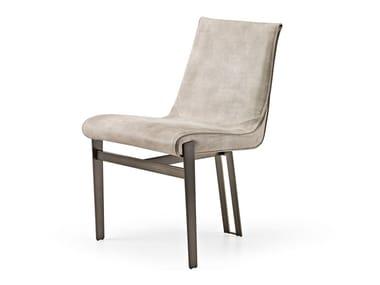 Upholstered velvet chair VENUS