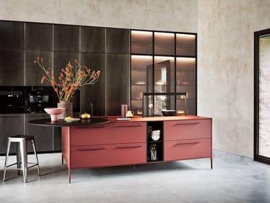 Kitchen with island UNIT - VERNACULAR GENTILITY
