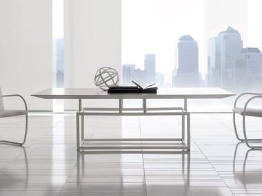 Tavolo rettangolare in legno VERNISSAGE
