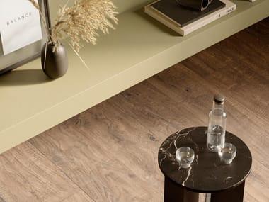 Pavimento/rivestimento in gres porcellanato effetto legno VERO | Castagno