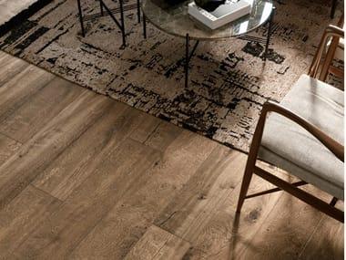 Pavimento/rivestimento in gres porcellanato effetto legno VERO | Rovere