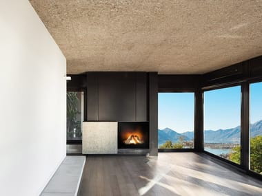 Gas built-in fireplace VERSAL CASSETTE