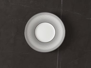 Cocktail porcelain plate VERTIGE | Cocktail plate