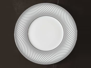 Porcelain serving plate VERTIGE | Serving plate