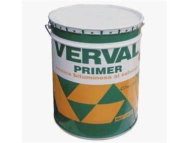 Primer bituminoso al solvente VERVAL PRIMER NERO