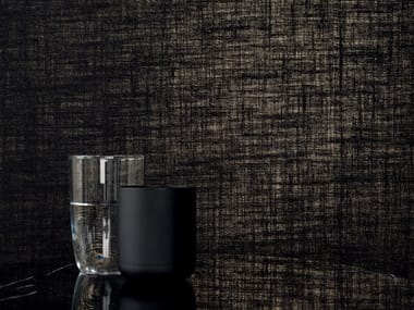 Solid-color jute wall fabric VESTIAIRE MASCULIN - WISHLIST