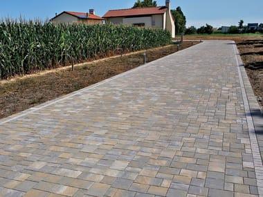 Concrete paving block VIA DESMAN