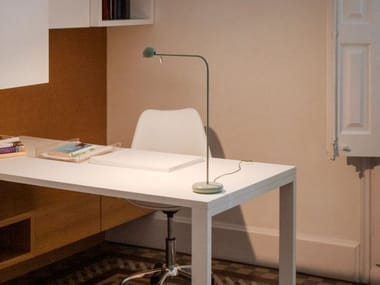 LED table lamp VIBIA - PIN TABLE GREEN
