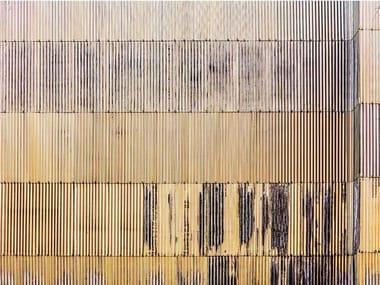 Papel de parede ecológico de tecido não tecido VIBRATIONS