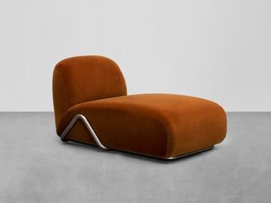 Chaise longue in tessuto VICTORIA | Chaise longue