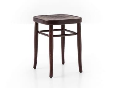 Low beech stool VIENNA 144 | Low stool