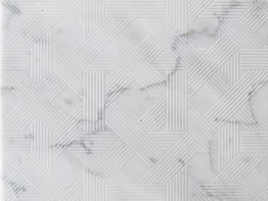 Marble wall/floor tiles VIENNA CARRARA