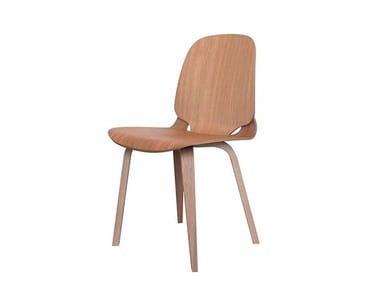 Wood veneer chair VIGGO | Chair