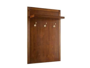 Wall-mounted cherry wood coat rack VILLA BORGHESE | Coat rack