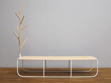 Wooden bench VILLA | Bench