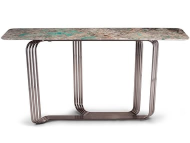 Rectangular marble console table VINCENT | Console table