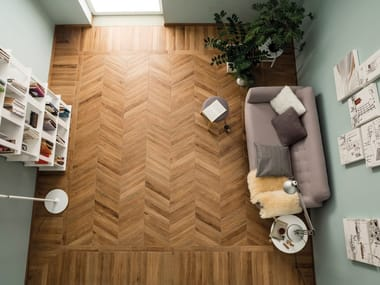 Porcelain stoneware wall/floor tiles with wood effect VINTAGE