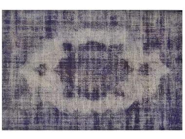 Vintage style custom rug VINTAGE DARK PURPLE