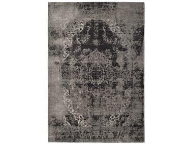 Tappeto a motivi rettangolare in tessuto acrilico VINTAGE TABRIZ | Tappeto