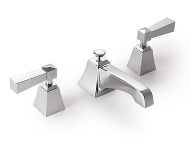 Robinet pour lavabo 3 trous à poser en laiton VIP TIME | Robinet pour lavabo 3 trous