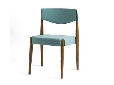 Wooden chair VIRNA | Upholstered chair