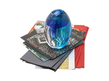 Paperweight VISIBLE JELLYFISH BLUE-GREEN