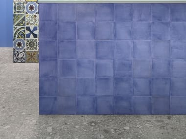 Pavimento/rivestimento in gres porcellanato VITA AZZURRO