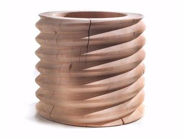 Cedarwood vase VITAE | Vase