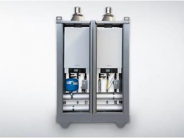 Outdoor metal condensation boiler VITOMODUL 200-E